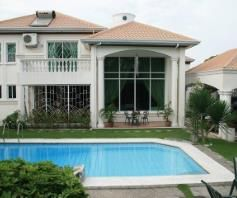 Fully Furnished Elegant House with pool for rent - P150K - 5