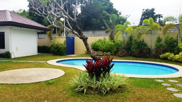 4 Bedroom furnished house with swimming pool FOR RENT ! - P120K - 1