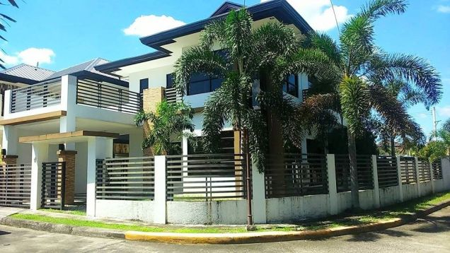 2-Storey Semi-Furnished House & Lot For RENT In Hensonville Angeles City Near Clark - 0
