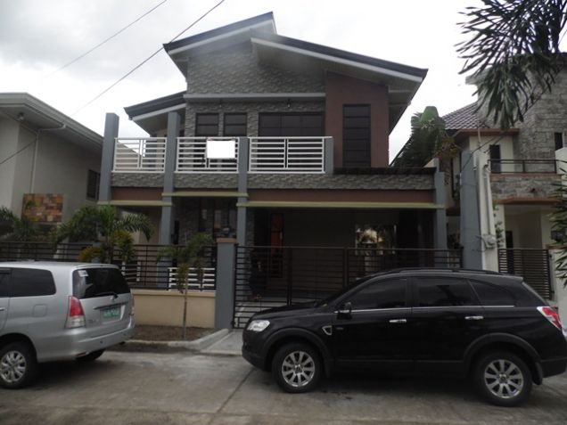 Modern 2 Storey House and lot for rent near SM Clark -@P50K - 0
