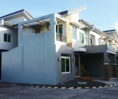 Furnished 3 Bedroom Townhouse For RENT In Friendship, Angeles City - 0