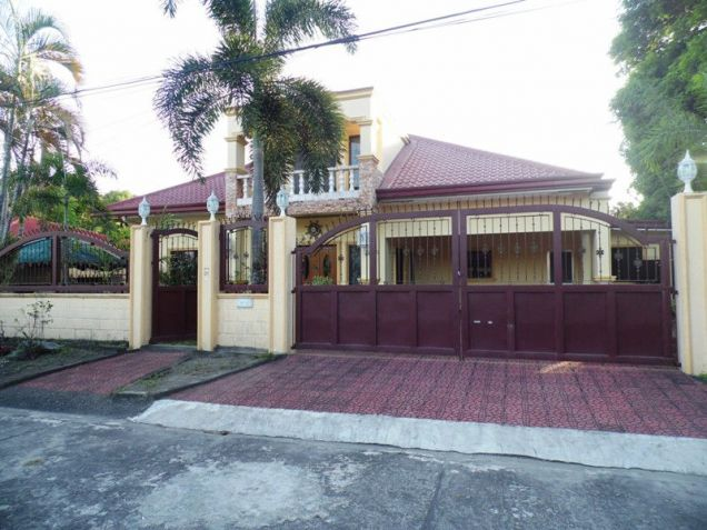 House & Lot ot with yard For Rent inside a gated Subdivision in Friendship - 75K - 7