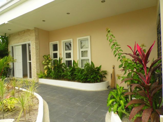 Furnished House and lot for rent inside a secured Subdivision for rent - 70K - 7