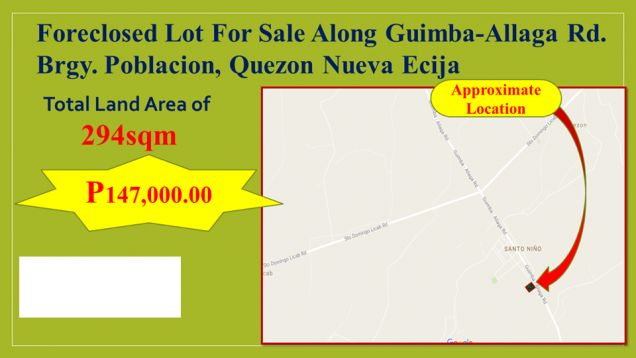 Lot for Sale in Quezon, Nueva Ecija, My Saving Grace Realty & Development Corp - 5