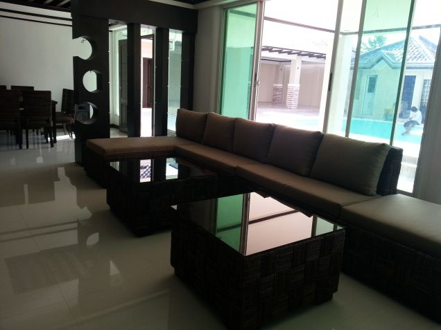 2 Storey House and Lot for Rent in Angeles City near Clark - 1