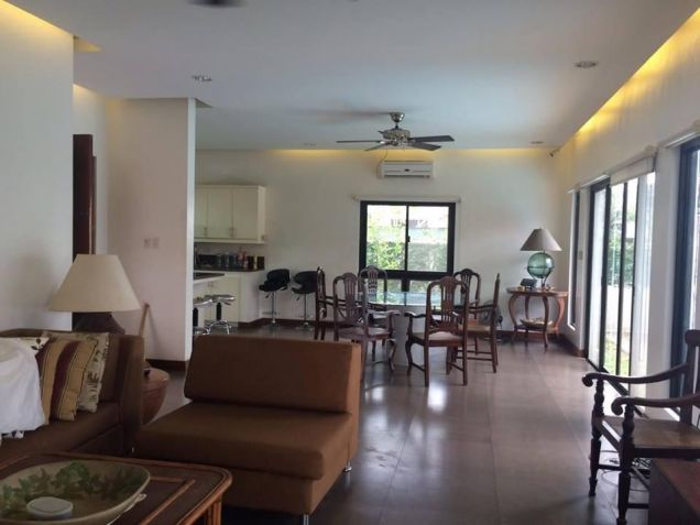 Furnished 3 Bedroom House and Lot with Pool for Rent - 1