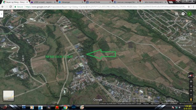 1500 sqm commercial lot in Puting Kahoy Silang Cavite Rush - 1