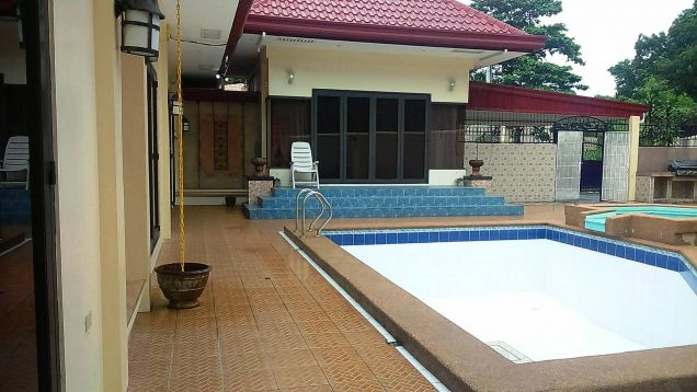 w/pool 1-Storey 4 Bedroom Furnished House & Lot for RENT in friendship Angeles City near to Clark... - 1