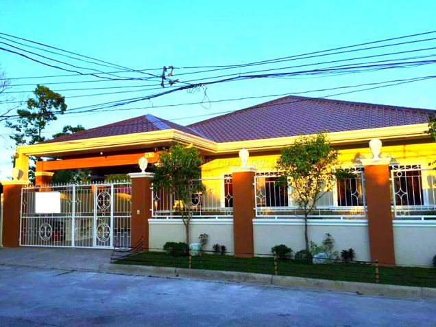 Bungalow 3 Bedroom House For Rent In Angeles City - 0