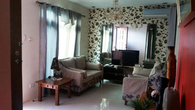 3 bedroom fully furnished located in a secured subdivision at 35K - 0