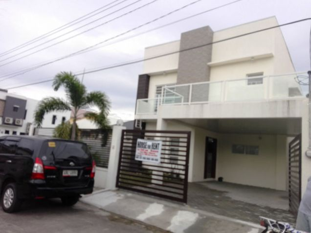 2 Storey 4 Bedroom Brandnew Modern House & Lot For RENT In Hensonvile Angeles City - 3