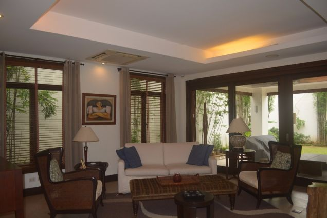 Banilad 2 storey house with 4bedrooms fully furnished inside paradise P180K - 0
