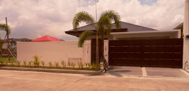 This 3 Bedroom Semi-furnished House for Rent in Angeles City, Pampanga -100K - 0