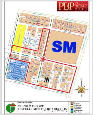 Commercial Lot, Pueblo de Oro Business Park, Cagayan de Oro City - 0