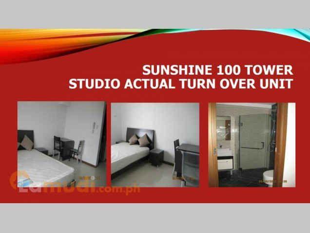 Affordable Studio type Condo Unit near at Shangrila Hotel - 0