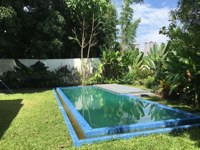 Forbes Park Makati Modern Asian new house for rent - 8
