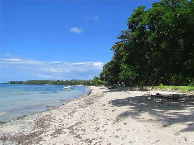 For sale 4,659 sq.m. Beach Lot in Union, San Francisco, Camotes Island, Cebu - 1