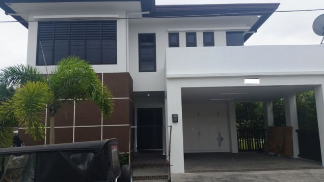 2-Storey House and Lot for Rent with Private Pool in Hensonville Angeles City - 0