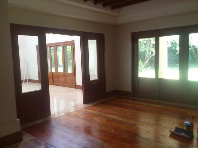Forbes Park Makati contemporary house for rent - 3