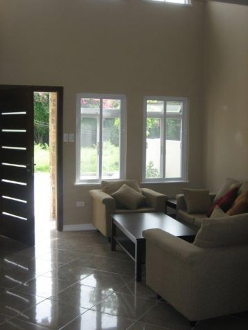 Furnished townhouse with 3BR for rent in Angeles City - 49.5k - 5