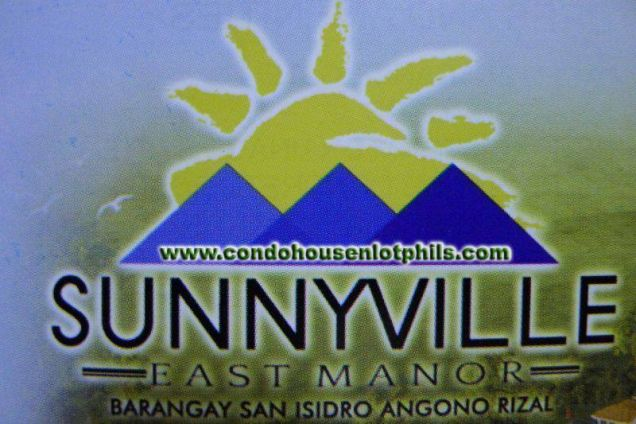 Residential lot on top with a view of Laguna Bay - Sunnyville East Manor - 3