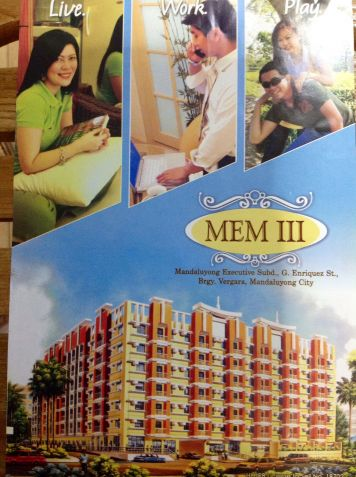 Affordable 3br Condo In Mandaluyong For Sale - 1