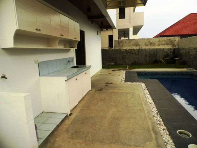 2 Storey House & Lot W/Pool For Rent In Hensonville Angeles City - 5