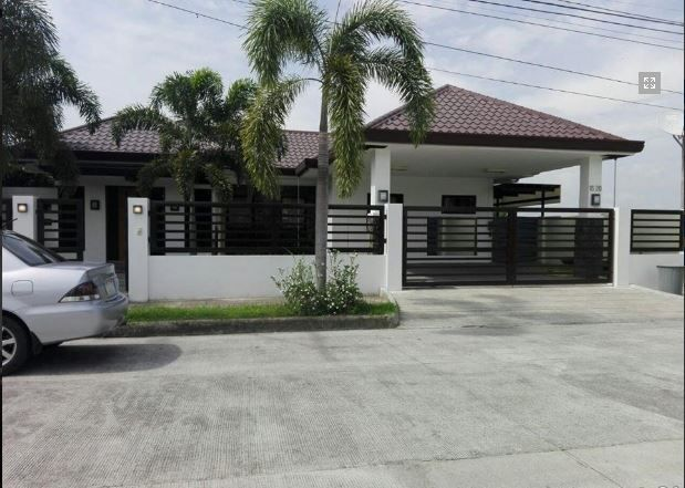 1 Storey House with swimming pool for rent - 75K - 6