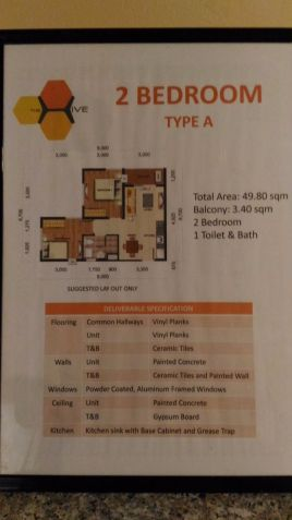 2 Bedroom Condominium along Ortigas Ext. Taytay - 3
