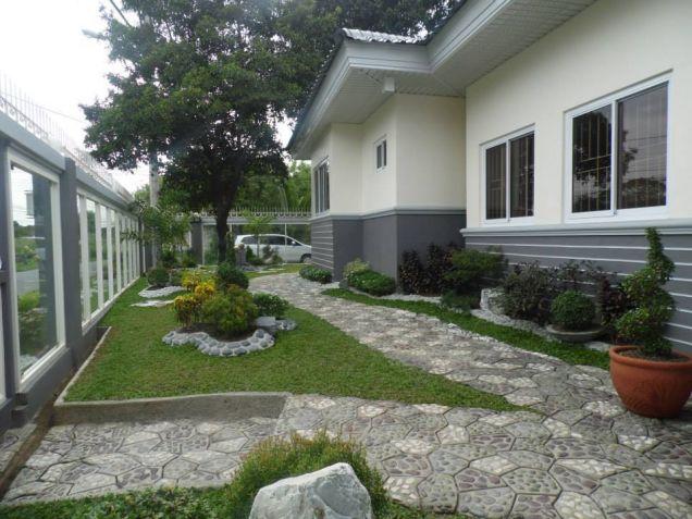$Bedroom Bungalow W/Huge Garden House & Lot For Rent In Angeles City. - 0