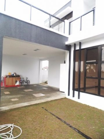 Semi furnished house and lot for rent in Angeles with 3BR - 80K - 5