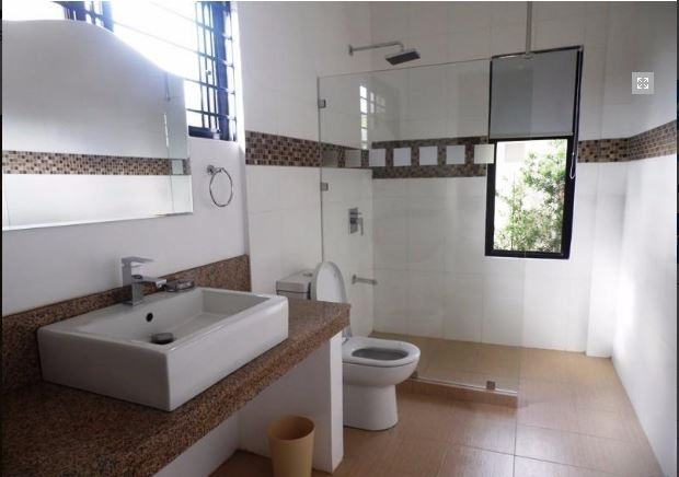 1 Storey House with swimming pool for rent - 75K - 9