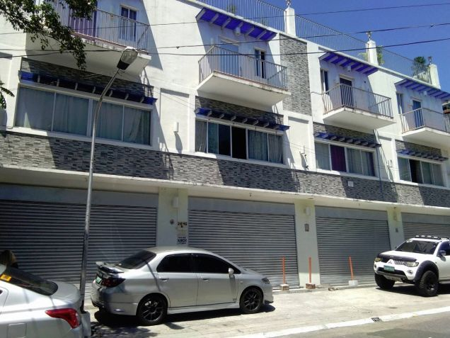 4 storey 4 units commercial residential apartments along dian street manila