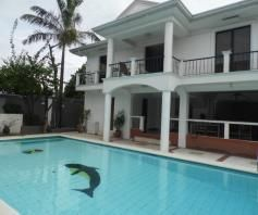 3 Bedrooms House For Rent with Swimming Pool Located at Timog Park - 1