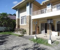 House and lot with Spacious yard for rent in Friendship - 55K - 9