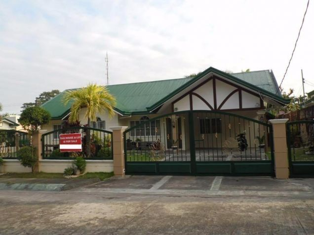 For Rent Furnished Bungalow House In Angeles City - 0