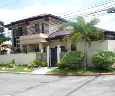 House and lot with swimming pool in Friendship FOR RENT @90k (Fully Furnished) - 4