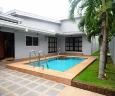 Furnished House & Lot with pool for RENT in Hensonville Angeles City - 0