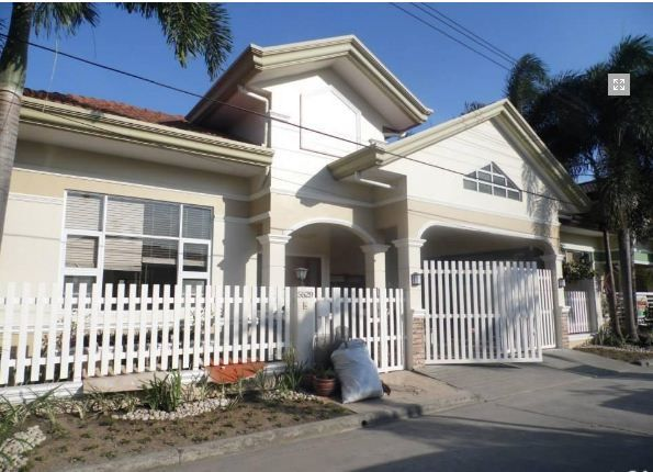 Bungalow Furnished House In Angeles City For Rent - 0