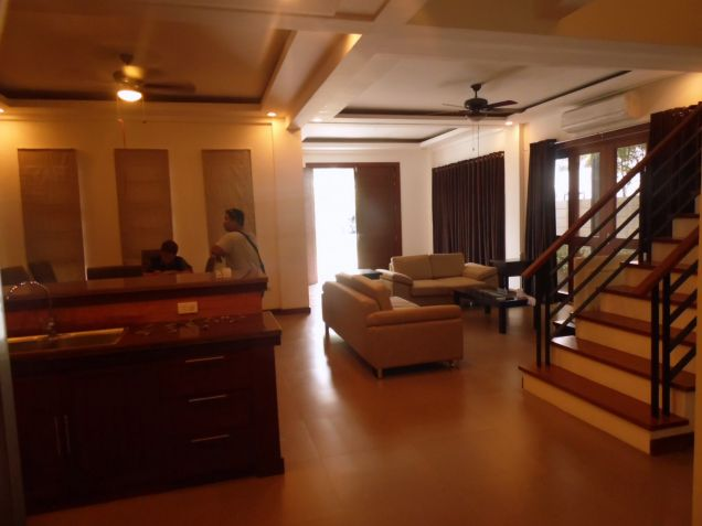 2 Storey Furnished House for rent in Hensonville - 70K - 8