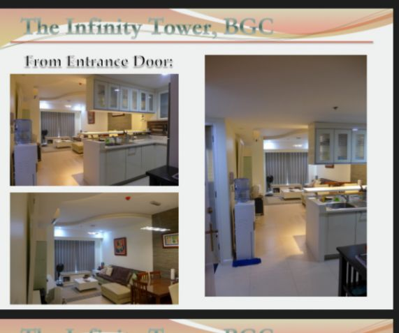 1 Bedroom Condo For Sale: BGC Infinity 1 Bedroom For Sale Furnished Condo For Sale