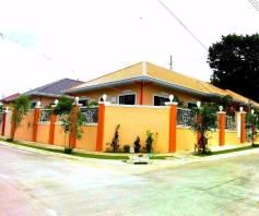 For Rent Big Bungalow House In Angeles City With Furnitures - 0