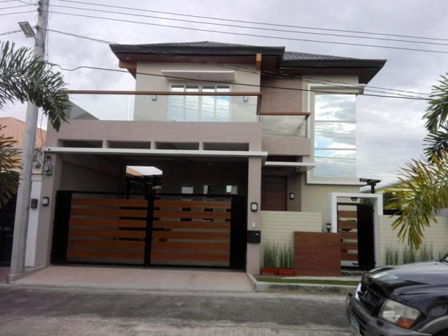 5 Bedroom Fullyfurnished Brand New House & Lot For RENT In Angeles City Near Clark - 0