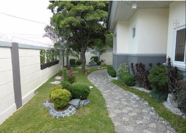 1 Storey House with Nice Landscaped yard for rent - 45K - 8