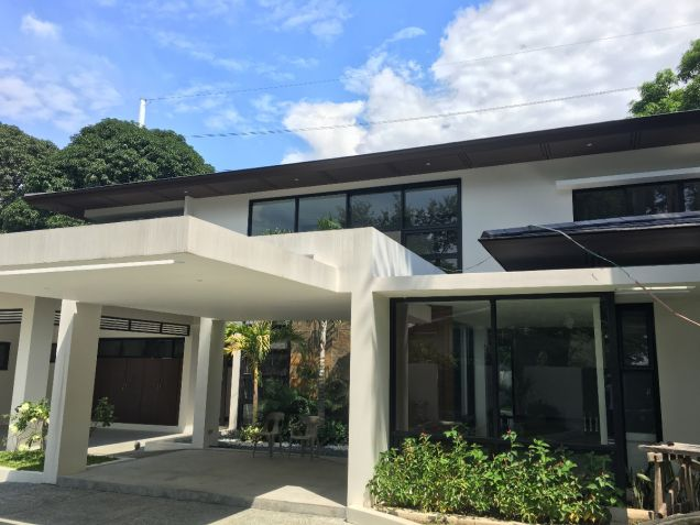 Forbes Park Makati Modern Asian new house for rent - 7
