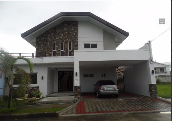 5Bedroom w/pool house & Lot for RENT in Hensonville Angeles City.. - 0