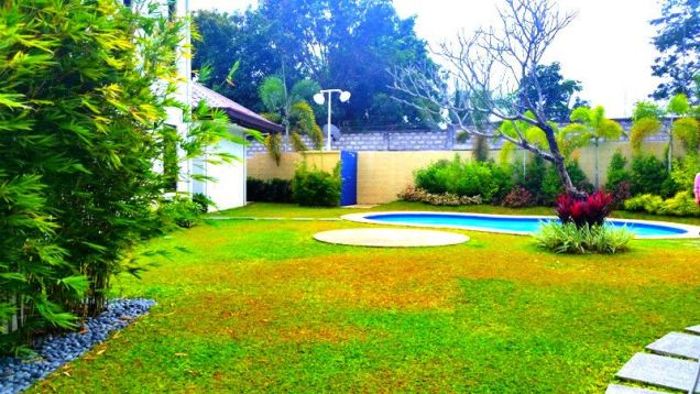 Furnished House With Pool For Rent In Angeles City - 6