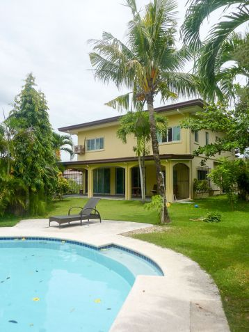 4 Bedroom House with Swimming Pool for Rent in North Town Cebu City - 0