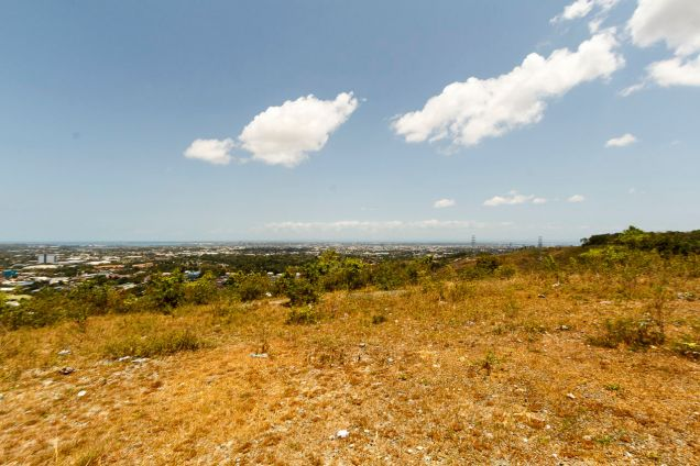 1000 SqM Hilltop Lot for Sale Overlooking Cebu City - 6