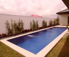 This 3 bedroom Semi - furnished house is located in a safe and secured subdivision - 0